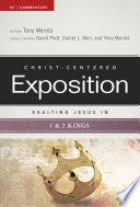 Exalting Jesus in 1   2 Kings