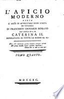 L Apicio moderno  ossia l arte di apprestare ogni sorta di vivande