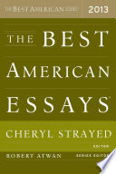 Book The Best American Essays 2013