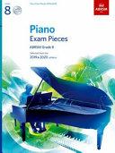 Piano Exam Pieces 2019 & 2020