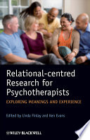 Relational centred Research for Psychotherapists