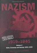 Nazism  1919 1945  State  economy and society 1933 1939