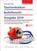 Taschenlexikon Beihilferecht Ausgabe 2019