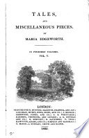 Tales and miscellaneous piecces Book PDF