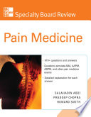 McGraw Hill Specialty Board Review Pain Medicine
