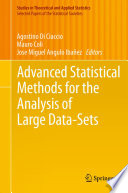 Advanced Statistical Methods for the Analysis of Large Data Sets
