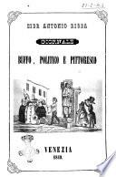 Sior Antonio Rioba giornale buffo  politico e pittoresco