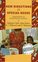 New Directions in Special Needs