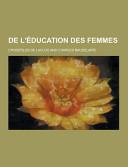De L   ducation Des Femmes