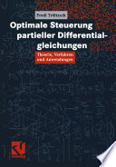 Optimale Steuerung Partieller Differentialgleichungen book