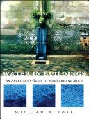 Water in buildings