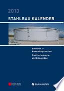Stahlbau Kalender 2013