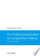Die Geisteswissenschaften im europäischen Diskurs