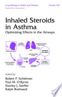 Inhaled Steroids In Asthma