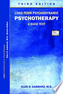 Long Term Psychodynamic Psychotherapy
