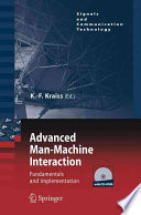 Advanced Man Machine Interaction