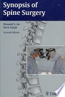 Synopsis Of Spine Surgery : the latest diagnostic and management techniques. new...