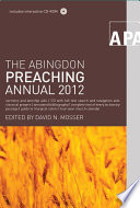 The Abingdon Preaching Annual 2012