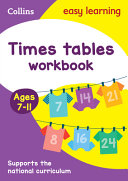 Times Tables Workbook Ages 7 11