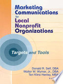 Marketing Communications for Local Nonprofit Organizations