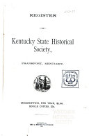 The Register of the Kentucky State Historical Society
