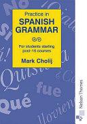 Practice in Spanish Grammar