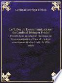 Le Liber De Excommunicatione Du Cardinal B Ringer Fr Dol