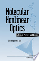 Molecular Nonlinear Optics