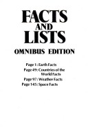 Usborne Book of Facts and Lists