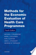 Methods For The Economic Evaluation Of Health Care Programmes : to improve healthcare. the new edition of methods...