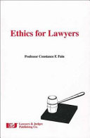 Ethics For Lawyers