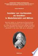 Gundaker von Liechtenstein als Grundherr in Niederösterreich und Mähren