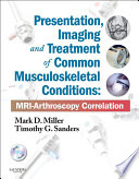 Presentation  Imaging and Treatment of Common Musculoskeletal Conditions