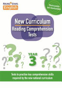 New Curriculum Reading Comprehension Tests Year 3