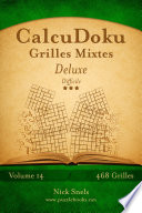 illustration CalcuDoku Grilles Mixtes Deluxe - Difficile - Volume 14 - 468 Grilles