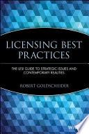 Licensing Best Practices
