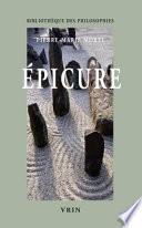 illustration du livre Epicure