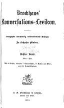 Brockhaus' konversations-lexikon