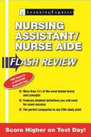 Nursing Assistant Nurse Aide Flash Review