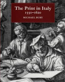 The print in Italy  1550 1620