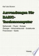 Anwendungen für BASIC-Taschencomputer