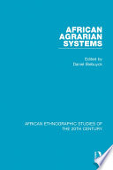 African Agrarian Systems