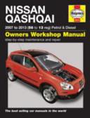 Nissan Qashqai Petrol And Diesel 2007 To 2012