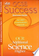 GCSE OCR Additional Science Higher Success Revision Guide