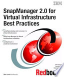SnapManager 2 0 for Virtual Infrastructure Best Practices