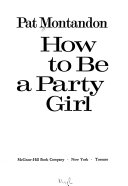 Book How to be a Party Girl