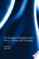 The European Neighbourhood Policy    Values and Principles