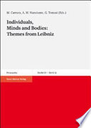 Individuals, Minds and Bodies: Themes from Leibniz