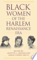 Black Women Of The Harlem Renaissance Era book
