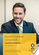 Business Essentials   Organisation and Behaviour Course